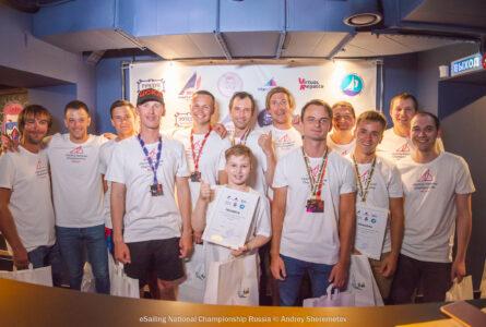 Национальный чемпионат ВФПС по интерактивному парусному спорту